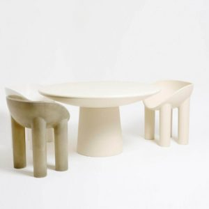 Faye Toogood coffee table and chairs